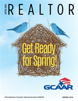 Cover of Capital Area REALTOR magazine