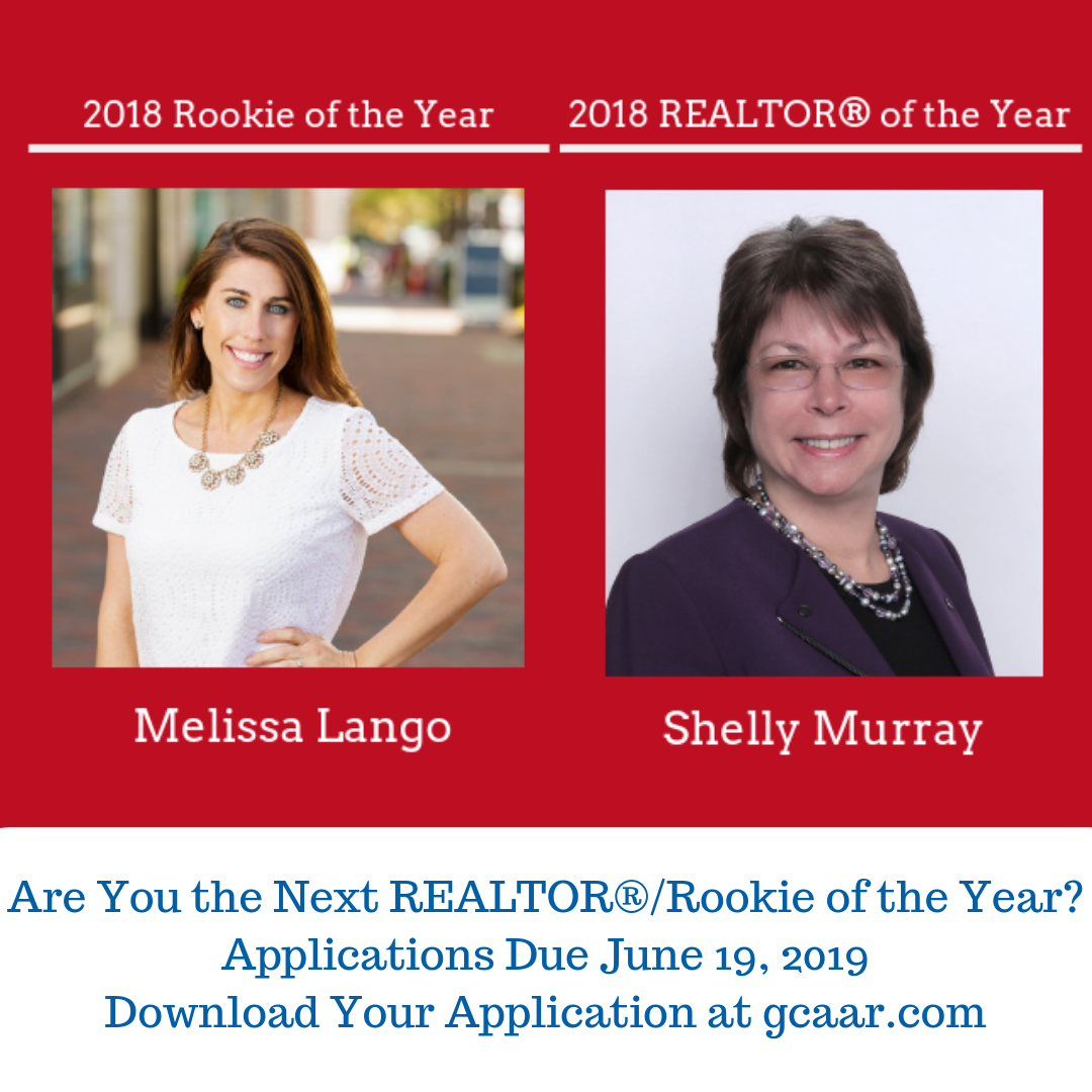 The 2018 Rookie and REALTOR of the Year.