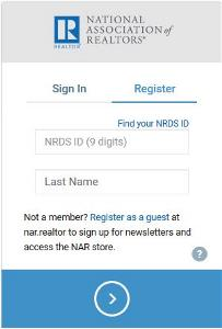 Register Screenshot