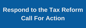 Tax Reform Call For Action Button